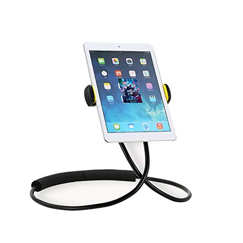 Bxwjg Lazy Hanging Neck Phone, Tablet-Halter IPad Ständer Universal Phone Stand, Neck Holder Ständer Snake Car Bed Mount Geeignet Für 4-10 Zoll Smartphones Und Ipads - Laptop Mount Car