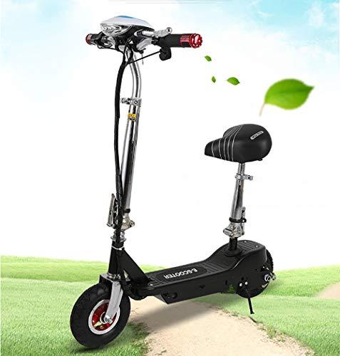 LUNYI Elektro Scooter City Elektroscooter mit 15-20 Km/h Geschwindigkeit, Faltbarer E-Scooter und City E-Roller Erwachsene und Kinder