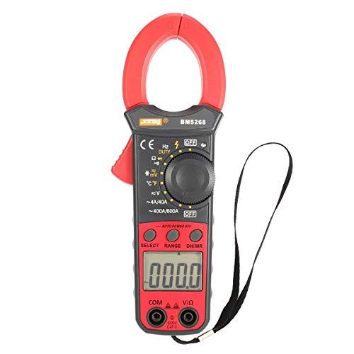 Gugutugo BM5268 Handheld Digital Clamp Meter Multimeter Echteffekte AC/DC Volt Amp Ohm Kapazität Frequenz Temperatur Diode Tester