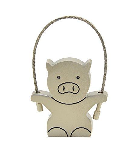 FEBNISCTE Metall Schwein 8GB USB2.0 Stick