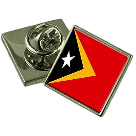 Timor Est Spilla distintivo inciso box personalizzato