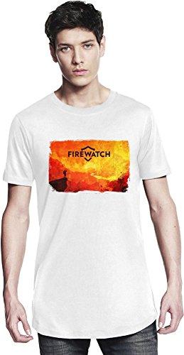 Red Firewatch Lange T-Shirt X-Large