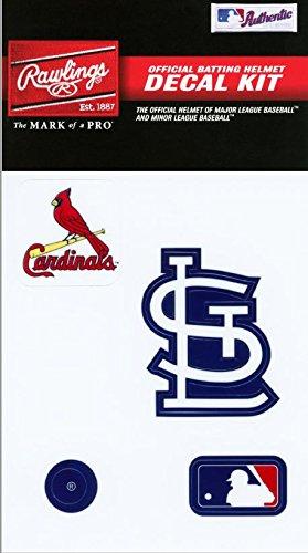 Rawlings Sporting Goods mlbdc Aufkleber Kit, Herren, St. Louis Cardinals, Einheitsgröße (Louis St Cardinals-aufkleber)