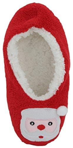SlumberzzZ, Pantofole donna Red Santa
