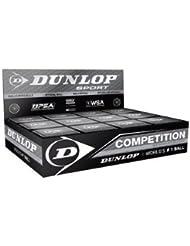 Dunlop 12x Squashbälle gelber Punkt