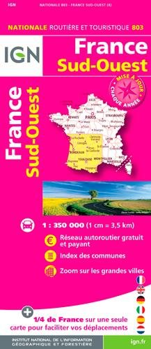 803 FRANCE SUD-OUEST  1/350.000