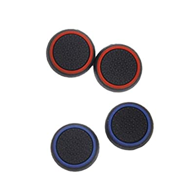Sharplace 4Pcs Joystick Thumbstick Caps for PS4 PS3 Xbox 360/ One Game Controller from Sharplace
