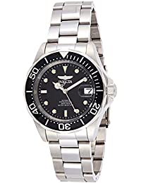 Invicta Pro Diver Unisex Wrist Watch Stainless Steel Automatic Black Dial - 8926