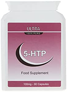 5-HTP 100mg. 90 Capsules (Healthlab) 99% Pure.