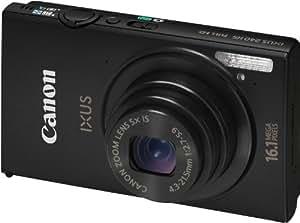 Canon Ixus 240 HS Appareil photo numérique 16,1 Mpix Wifi Noir