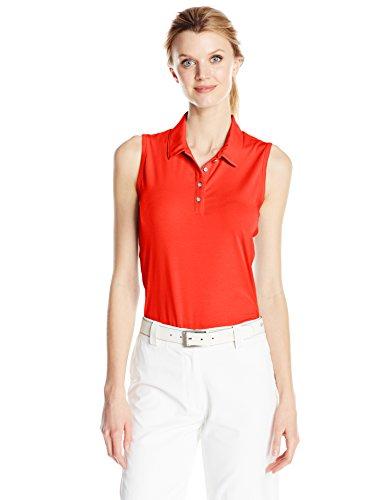 adidas Golf Damen Essentials Cotton Sleeveless Tee, damen, Core Red (Sleeveless Jersey Elite)