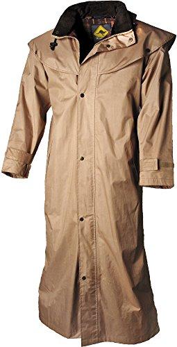 Scippis Stockman Coat Regenmantel XL beige leicht