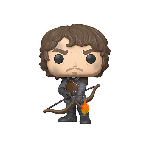 Funko Pop TV: Game of Thrones-Theon w/Flaming Arrows (GW) Figura Coleccionable, Multicolor (44821)