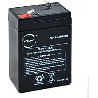 NX - Batería plomo AGM S 6V-4.5Ah 6V 4.5Ah T1 - Unidad(es)