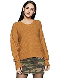 Roxy Rest Ashore Pull - Jersey para Mujer, Mujer, Bone Brown, FR : S (Taille Fabricant : S)