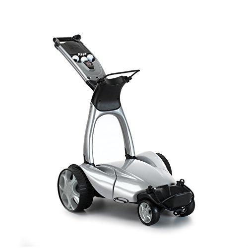 Stewart Golf X9 Remote Controlled Golf Trolley - Metallic Silver