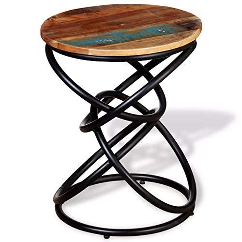 Xinglieu tavolino laterale in legno massello recuperato tavolo consolle tavolo consolle ingresso