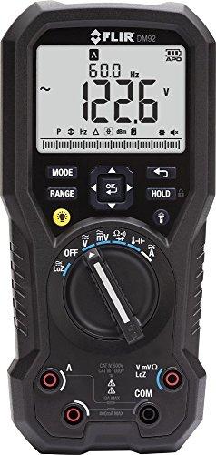 Preisvergleich Produktbild FLIR Industrie-Multimeter mit LoZ und VFD Filter, 1 Stück, DM92