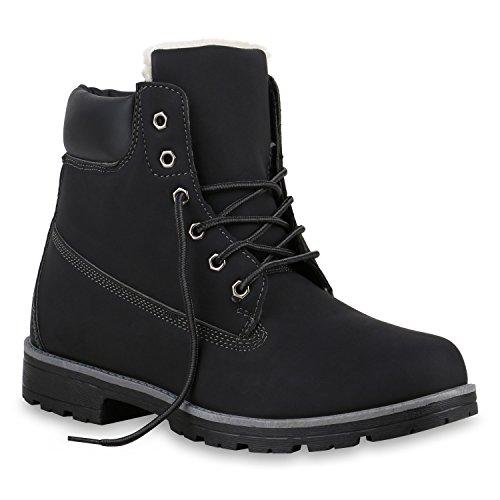 Herren Worker Boots Outdoor Schuhe Profil Sohle Gefüttert Schwarz Weiss