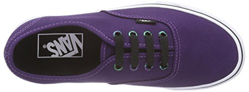 ERA 59 - (cork twill) - arabian spice Violett ((Iridescent Eyelets) blackberry/true white)