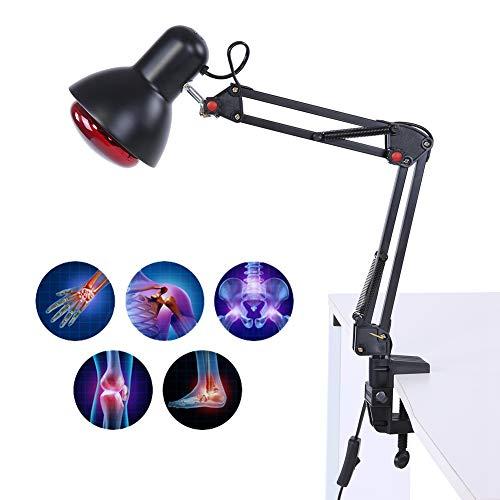 Lampada per fisioterapia a raggi infrarossi, terapia di riscaldamento a temperatura regolabile, leggera terapia antiretrovirale (EU-Stecker)