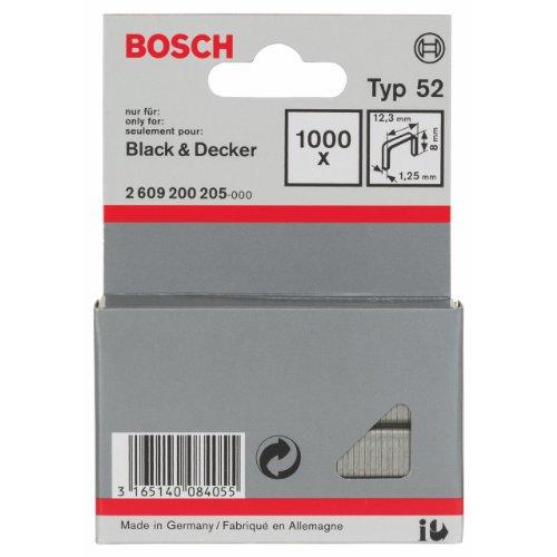 Bosch 2609200205 1000 Tackerkla mmern 8/12,3  mm Typ52