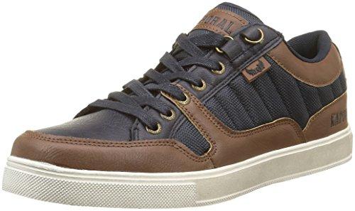 kaporal-edy-sneakers-basses-homme-marron-marron-marine-43-eu
