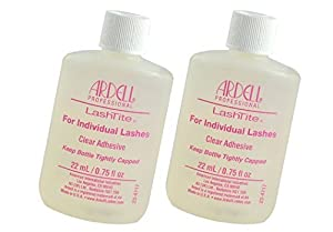 Ardell Lashtite Eyelash Adhesive Glue-Clear Individual Eyelash Adhesive Specially Formulated For Use With Duralash - Size 0.75 fl oz / 22ml by Ardell