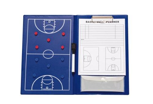 Rucanor Coaching-Board Basketball Blau blau 36 x 47 (Basketball Coaching-board)