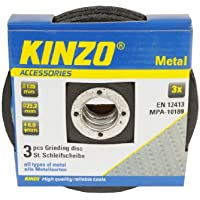 Kinzo 71774 Disque de meulage en métal 125 mm
