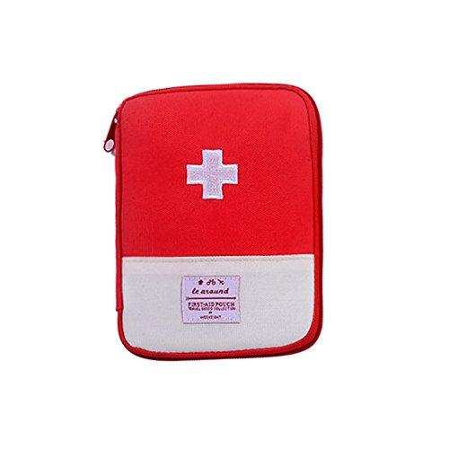 TiooDre Reisegepäck, tragbar, für den ersten Hilfe-Hilfsmittel Medicina Survival Outdoor Organizer, Notfall-Set, Paket