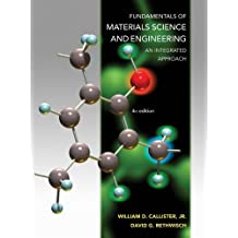 Fundamentals of Materials Science and Engineering: An Integrated Approach 4e + WileyPLUS Registration Card by William D. Callister (2012-08-20)