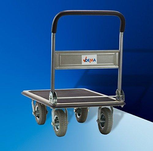 Transportwagen Klappwagen XL mit Luftbereifung – Traglast: 300 kg - 6