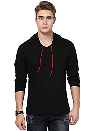 Katso Mens Cotton Hooded T-Shirt