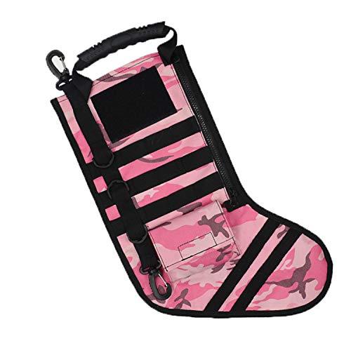 Wenrityent WENR® im Freien Sport Aufbewahrungstasche Weihnachtsstrumpf Socken Design Tasche (MEHRWEG)