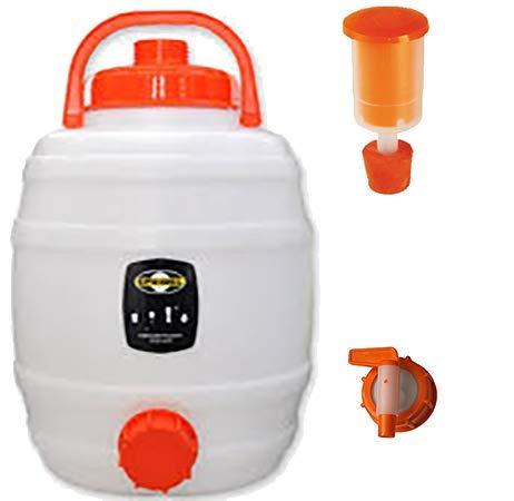 Cuve de fermentation en plastique 12L, Speidel' - Kit complet