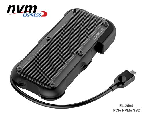 ElecGear USB 3.1 Gen2 Impermeable Caja Carcasa NVMe