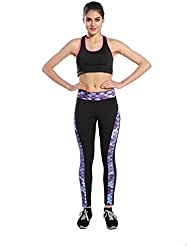 Las Nueve Punto Digital Costura Pantalones De Yoga Leggings Deportes,3,XL