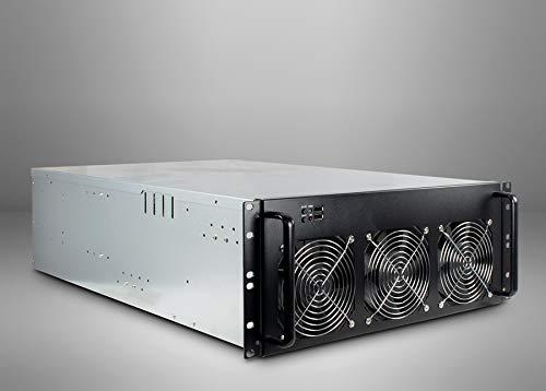 Inter-Tech 88887236 - Computer-Gehäuse (Rack, Server, Stahl, Schwarz, Grau, ATX,Micro ATX,Mini-ITX, 4U)
