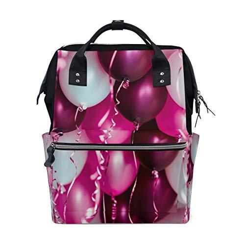 Bunte Kind Ballon Große Kapazität Wickeltaschen Mama Rucksack Multi Funktionen Windel Pflege Tasche Tote Handtasche Für Kinder Babypflege Reise Täglichen Frauen