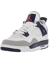 Nike Air Jordan 4 Retro Gg, Zapatillas de Running Para Niñas