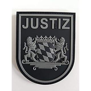 ATG sleeve badge JUSTIZ Bayern 3D rubber patch