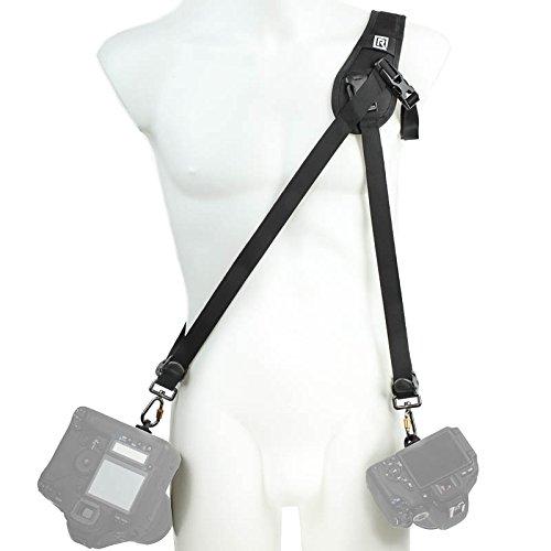 BlackRapid R-Strap Hybrid Breathe Doppel-Kameragurt für 1 Schulter -