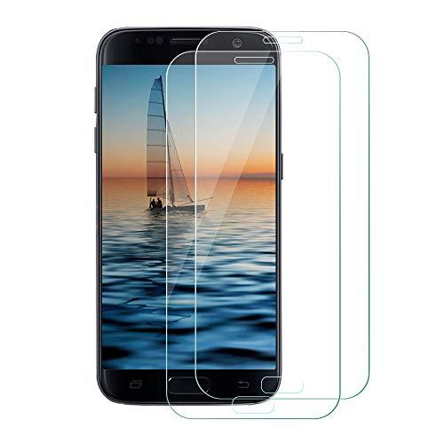 Vegkey Galaxy S7 Panzerglas Schutzfolie, 2 Stück Galaxy S7 Panzerglas Schutzfolie, Panzerglas Schutzfolie Bildschirmschutzfolie Folie für Samsung Galaxy S7