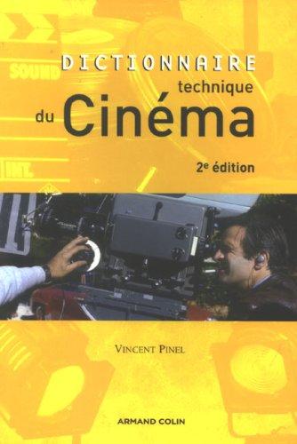 Dictionnaire technique du cinéma