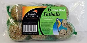 Dawn Chorus Wildvogel Füttern Garten Fettbälle Futter 6er Pack * Blitzversand