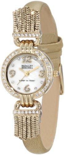 badgley-mischka-dames-watch-decontractee-quartz-batterie-reloj-ba-1212mpgd