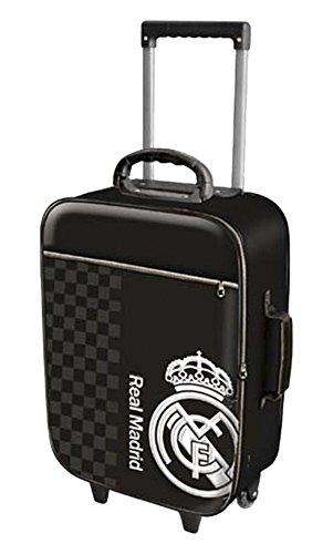 Karactermanía Real Madrid - Trolley de Viaje, 21 Litros, color marrón oscuro