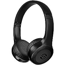 SoundPEATS Auriculares Diadema Inalámbricos Bluetooth 4.1 Cascos con Micrófono USB Estéreo Audio 25 Hrs Reproducción CVC6.0 Reducción de Ruido Headphones para iOS Android Móvil Smartphones