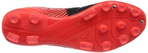 Puma Evospeed 3.5 Lth Ag, Chaussures de Football Compétition Homme Noir - Schwarz (black-puma White-Red blast 01)